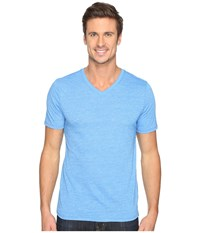Hurley Staple Tri Blend V Neck Light Photo Blue Men's T Shirt