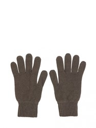 Johnstons Of Elgin Cashmere Mens Gloves Brown