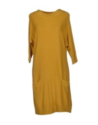 Matisse Collection Short Dresses Yellow