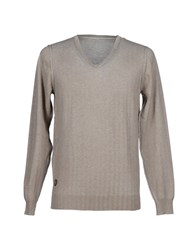 Fred Mello Knitwear Jumpers Men Khaki