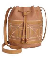 Inc International Concepts Four Corners Bucket Bag Only At Macy's Tan