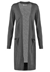 Zalando Essentials Cardigan Dark Grey Melange Mottled Dark Grey