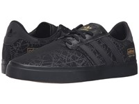 Adidas Seeley Premiere City Series New York Black Black Gold Metallic Men's Skate Shoes