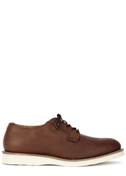 Red Wing Shoes Postman Oxford Brown Leather Shoes