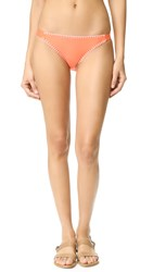 Splendid Stitch Bikini Bottoms Coral