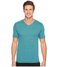 Hurley Staple Tri Blend V Neck Seaweed Men's T Shirt Green