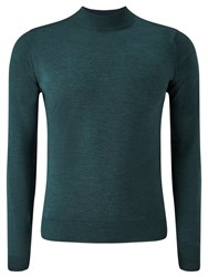 John Smedley Harcourt Turtle Neck Jumper Racing Green