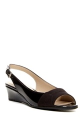 Jack Wedge Sandal Black