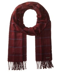 Ted Baker Flint Dark Red Scarves