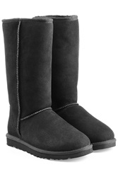 Ugg Australia Classic Tall Suede Boots Black