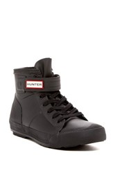 Hunter Original Waterproof High Top Black