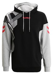 Hummel New Nostalgia Sweatshirt Black Grey Melange