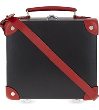Globe Trotter Centenary 9 Mini Utility Case Black Red Exclusive