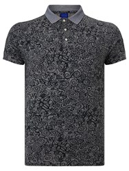 Scotch And Soda Floral Polo Shirt