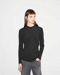 Norse Projects Embla Wool Jersey Tee Charcoal Melange