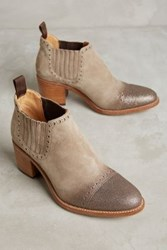 Anthropologie Angela Scott Miss Austin Boots Beige