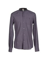Galliano Shirts Purple