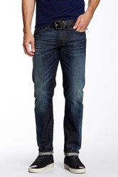 Dkny Williamsburg Slim Fit Jean Blue