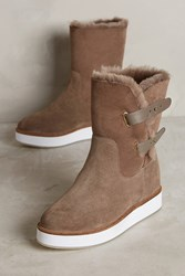 Anthropologie Australia Luxe Collective Bushmill Boots Taupe