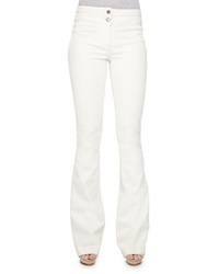 Veronica Beard Full Length Flared Denim Pants