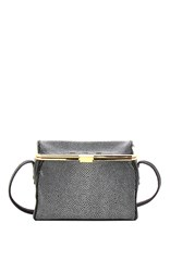 Vbh Audrey Stingray Highlighted Black Cross Body Bag