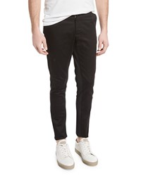 Opening Ceremony Shutter Slim Fit Trousers Black