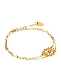 Alex Monroe Ship's Wheel Bracelet Female