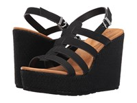 Volcom High Society Black Women's Wedge Shoes