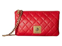 Love Moschino I Love Superquilted Evening Crossbody Bag Red Cross Body Handbags