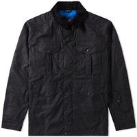 Barbour X White Mountaineering Crux Wax Jacket Blue