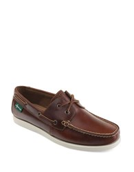 Eastland Kittery 1955 Leather Boat Shoes Dark Tan