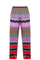 Missoni Multi Stripe Split Trousers
