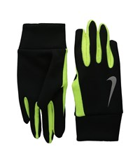 Nike Running Thermal Headband Glove Set Black Volt Athletic Sports Equipment