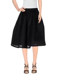 Dress Gallery Skirts Knee Length Skirts Women Black