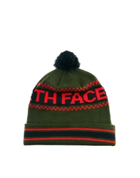 The North Face Ski Tuke Iv Bobble Beanie Hat Green