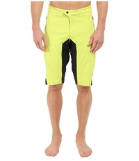 Pearl Izumi Summit Shorts Lime Punch Men's Shorts Multi