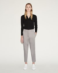 Jil Sander Bartolomeo Cropped Pant Medium Grey