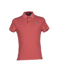 Blauer Topwear Polo Shirts Men Garnet