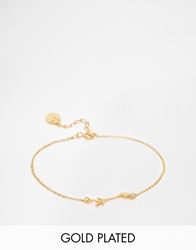 Verity By Alex Monroe Exclusive Love Arrow Bracelet Gold