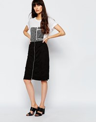 Cheap Monday Craze Skirt Punk Black