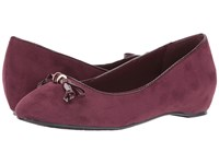 Soft Style Cahill Sassafras Faux Suede Sassafras Patent Women's Dress Flat Shoes Brown