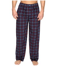 Jockey Matt Silky Fleece Pants Navy 2 Men's Pajama