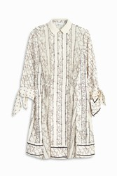 3.1 Phillip Lim Knot Print Dress White