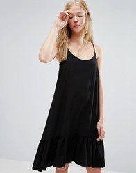 Gestuz Vea Dropped Waist Cami Dress Black