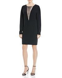 Dkny Chain Overlay Dress Bloomingdale's Exclusive