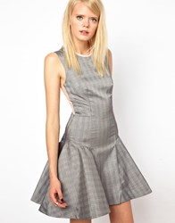 Antipodium Guidelines Dress Black And White