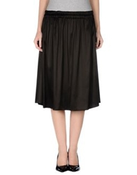 Gianfranco Ferre Gf Ferre' Knee Length Skirts Black
