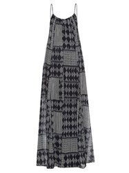 Velvet By Graham And Spencer Mali Geometric Print Maxi Dress