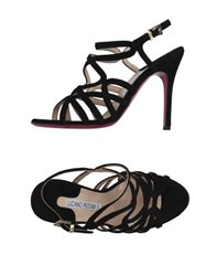 Luciano Padovan Footwear Sandals Women Black