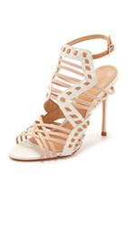 Schutz Tamiris Sandals Pearl Light Wood Tanino Ii